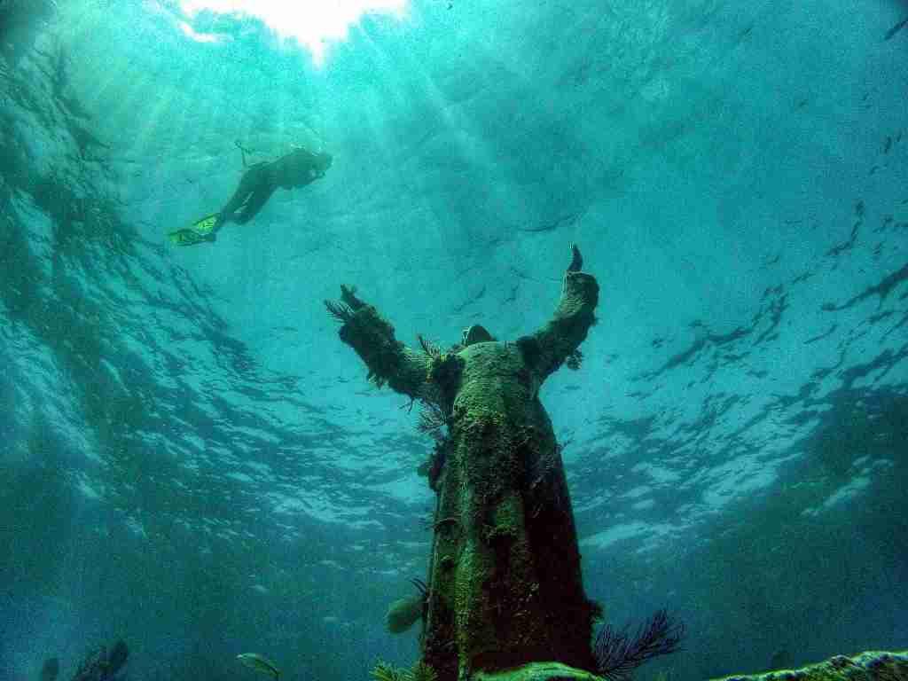 Cristo degli abissi - immersioni liguria